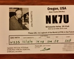 I still send paper QSLs but also use LoTW, as suggested.